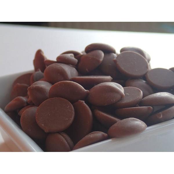 Натурален шоколадов чипс 53.8 % 100 гр.