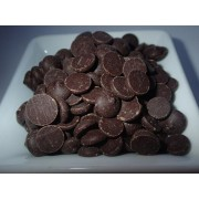 Natural chocolate chips 53.8 %